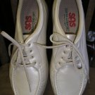 "SAS ""TAKE TIME"" STYLE OXFORD LEATHER SIZE 9M WOMEN'S SHOES in ""BONE"" - LIKE NEW!"