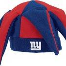 NEW YORK GIANTS REEBOK NFL JESTER FLEECE HAT - SIZE OSFM - OFFICIALLY LICENSED PRODUCT !