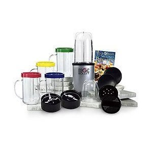 MAGIC BULLET 22 PIECE High-Speed Blender Mixing System!