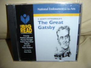 "THE BIG READ ""The Great Gatsby"" F. Scott Fitzgerald CD National Endowment For The Arts - BRAND NEW!"
