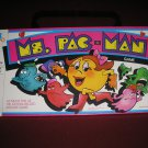 MS. PAC-MAN BOARD GAME from 1982 - MILTON BRADLEY COMPANY - FUN with INKY, BLINKY & PINKY!