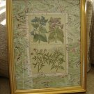 "JOHN RICHARDS ""BOTANICAL"" DECORATIVE PRINT from HOWCHOW COLLECTION #GRJ-0500BR - BEAUTIFUL!"