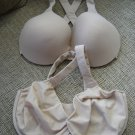 SPANX BRA-LLELUJAH!® NON-PADDED CONTOUR & PADDED RACERBACK FRONT CLOSURE UNDERWIRE BRAS-SIZE 34DD!