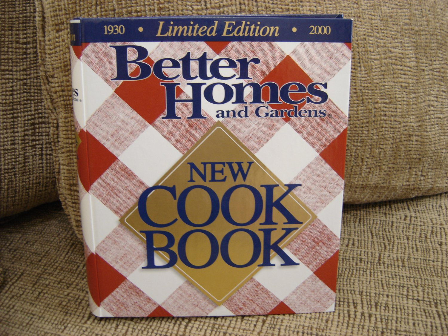 Better Homes And Gardens New Cookbook 1930 2000 Limited Edition Hardcover Brand New