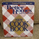 BETTER HOMES AND GARDENS NEW COOKBOOK 1930-2000 LIMITED EDITION HARDCOVER - BRAND NEW!