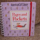 PAGES AND POCKETS:A PORTFOLIO FOR SECRETS AND STUFF (AMERICAN GIRL LIBRARY)-AMERICAN GIRL-NEW!