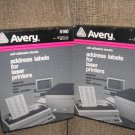 "AVERY 5160 WHITE SELF-ADHESIVE LASER LABELS - 1"" x 2 5/8"" by Avery - 3000 LABELS - NEW OLD STOCK!"