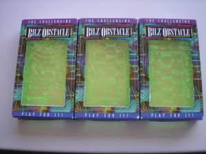 THE CHALLENGING BILZ OBSTACLE-PLAY FOR IT-COMPLETE CHALLENGE TO RECEIVE YOUR GIFT-NEW OLD STOCK!