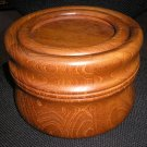 VINTAGE 1960's TEAK WOOD ICE BUCKET by NISSEN of DENMARK - SLEEK, MODERN DESIGN!
