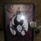 "DISNEY'S SLEEPING BEAUTY ""MALEFICENT"" Locking Diary - BRAND NEW!"