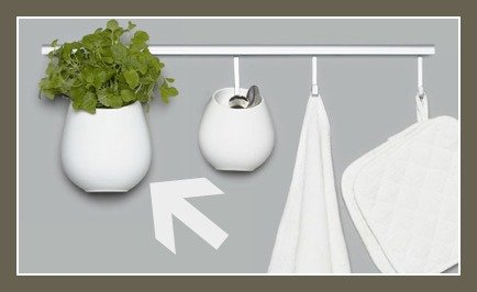 Ikea Asker Kitchen Wall Storage System Container Planter