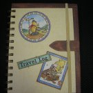 DISNEY WINNIE THE POOH TRAVEL LOG - ITINERARY/HOTELS/RESTAURANTS/SHOPS/NOTES/ADDRESSES!