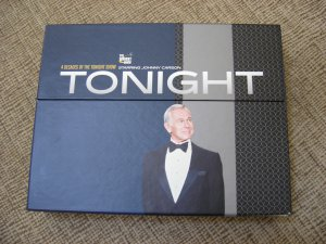 TONIGHT - 4 DECADES OF THE TONIGHT SHOW STARRING JOHNNY CARSON 15 DVD BOX SET - WATCHED ONCE!