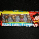 "VINTAGE WOODEN ""AMUSING ANIMALS ASSORTED"" from CHINA in ORIGINAL BOX - #WM193!"