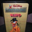 WALT DISNEY CARTOON CLASSICS LIMITED GOLD EDITION:PLUTO VHS TAPE-1984-in FACTORY PLASTIC-SUPER RARE!