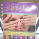 NAIL ART by Klutz - Instruction book and 6 non-toxic, peel-off nail colors!!