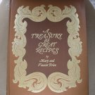 A TREASURY OF GREAT RECIPES HARDCOVER by Vincent Price & Mary Price - RARE!