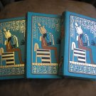 THE FRIENDS OF HISTORY - SET OF 3 BOOKS ON EGYPT from the 1970'S - RARE!