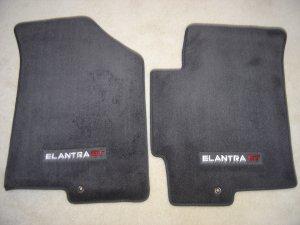 Hyundai Elantra Gt Charcoal Gray 2 Piece Floor Mat Set