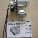 FUJI FINEPIX S3000 3.2MP DIGITAL CAMERA with 2GB xD-PICTURE CARD!