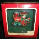 Carlton Cards - Heirloom Collection Ornament~Christmas Express Engine #114826-5 - NEW IN BOX!