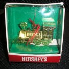 "HERSHEY'S SOLID BRASS & HAND POLISHED ""CHOO CHOO"" TRAIN ORNAMENT - NEW IN BOX!"