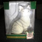 TIGER STRIPED SHORTHAIR CAT LIMITED EDITION ORNAMENT - NEW IN BOX!