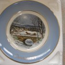 "AVON 1979 CHRISTMAS PLATE ""DASHING THROUGH THE SNOW""- IN ORIGINAL BOX!"
