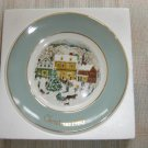 "AVON 1980 CHRISTMAS PLATE ""COUNTRY CHRISTMAS""- IN ORIGINAL BOX!"