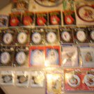 CROSS STITCH KITS/NEEDLECRAFT - LOT OF 33 - MILL HILL,WIZZERS,TITAN,DESIGNS FROM THE NEEDLE + MORE!