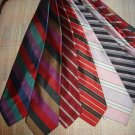 BARNEYS NEW YORK NECK TIES - LOT OF 6 VINTAGE NECK TIES - AUTHENTIC - WOW!