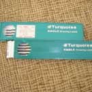 EAGLE TURQUOISE DRAWING LEADS #2375 2H Box/12 NEW/OLD STOCK PLUS BONUS!