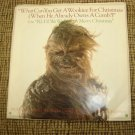 STAR WARS &quot;WHAT CAN YOU GET A WOOKIEE FOR CHRISTMAS 45 VINYL RECORD w/ PICTURE SLEEVE R2-D2 - RARE!