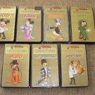WALT DISNEY CARTOON CLASSICS LIMITED GOLD EDITION I COMPLETE SET OF 7 VHS TAPES -1 STILL IN PLASTIC!