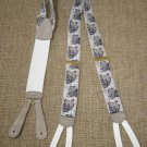 "TRAFALGAR ""BULL & BEAR"" SUSPENDERS BRACES - CALVIN CURTIS LIMITED EDITION!"