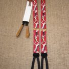 TRAFALGAR &quot;COUPLE BALLROOM DANCING&quot; SUSPENDERS BRACES - CALVIN CURTIS LIMITED EDITION!