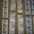NORMAN ROCKWELL PRINT SUSPENDERS BRACES - LOT OF 3 PAIRS - SATURDAY EVENING POST PRINTS!