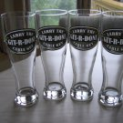 "LARRY the CABLE GUY ""GIT-R-DONE"" 16 oz. PILSNER GLASSES - SET OF 4 by SRI Marketing"