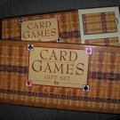 CARD GAMES GIFT SET by N.A.C. Bathe - GUIDEBOOK INCLUDES VARIETY of OVER 35 CARD GAMES!