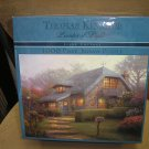 "THOMAS KINKADE PAINTER OF LIGHT ""LILAC COTTAGE"" 1000 PIECE JIGSAW PUZZLE by CREACO!"