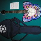 "DAISY ROCK DEBUTANTE BUTTERFLY SHORT-SCALE ELECTRIC GUITAR ""FANTASY"" - with CASE!"