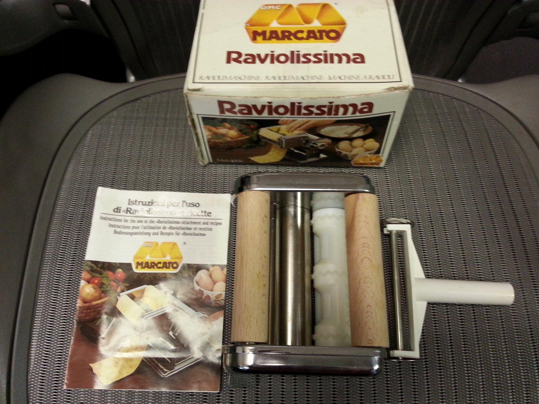 ravioli attachment for pasta machine