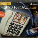 Ameriphone Amplified Photo Phone Model #P300 - Wall or Desk Mount!