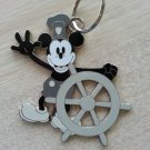 "Mickey Mouse ""Steamboat Willie"" Black & White Nostalgic Disney Keychain! from 2004"