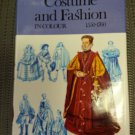 Costume and Fashion in Colour 1550-1760 Book by Ruth M. Green - Illustrated by Jack Cassin-Scott!