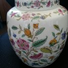 Haddon Hall Pattern by Minton Large Ginger Jar with Lid - Chintz Floral!