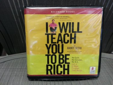 I Will Teach You to Be Rich - Audible Audio Edition by Ramit Sethi - OVER 9 HOURS!