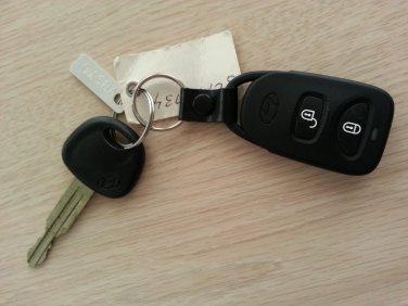 HYUNDAI TUCSON keyless entry remote key fob transmitter/clicker Model #OKA-320T w/ OEM Key #V0970!