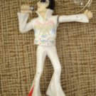 Elvis Dashboard Dancing Wobbler dressed in the American Eagle Jumpsuit by Wackel - RARE!