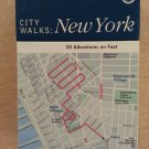 City Walks: New York: 50 Adventures on Foot by Martha Fay  EXPERIENCE NYC LIKE A NATIVE!